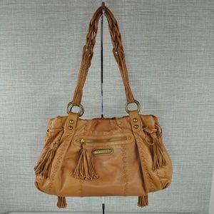 NWOT Isabella Fiore Tan Shoulder Bag
